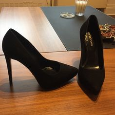 Sergio Rossi platform suede pumps Platform suede size 37.5 or 7.5 US. Worn once. Perfect condition. Sergio Rossi Shoes Heels