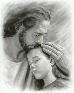 Jesus kissing girl