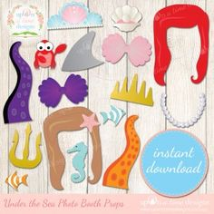 Under the Sea Photobooth Props – Display