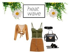 """""""Summer Heat Wave Outfit"""" by nashte-styles ❤ liked on Polyvore featuring Puma, Sonia Rykiel, Aéropostale and Ancient Greek Sandals"""