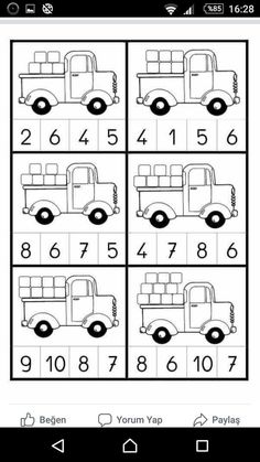 Kindergarten Numbers to 20 Worksheet Pack - Wooden Toys Numbers Kindergarten, Numbers Preschool, English Worksheets For Kids, Kindergarten Math Worksheets, Preschool Writing, Preschool Learning Activities, Math For Kids, Wood Toys, Educational Crafts