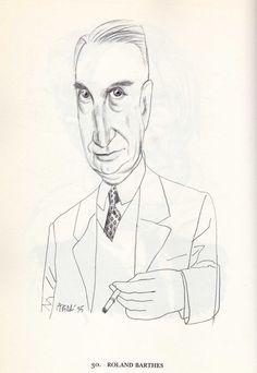 Tullio Pericoli   Roland Barthes
