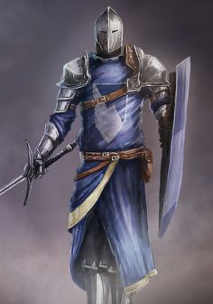 ArtStation - Blue Knight, rico cilliers