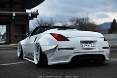 Nissan with wide arch body kit conversion Nissan 350z Convertible, Nissan 370z, Datsun 240z, Car Tuning, Japanese Cars, Jdm Cars, Fast Cars, Sport Cars, Cars And Motorcycles