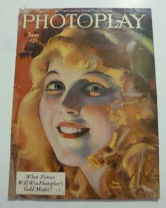 June Caprice June 1921 Photoplay Movie Magazine Cover by Rolf Armstrong | eBay