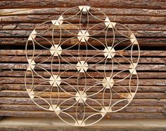 Browse unique items from Powerofwood on Etsy, a global marketplace of handmade, vintage and creative goods. Wooden Flowers, Flower Of Life, Etsy Seller, Create, Small Businesses, Spirituality, Handmade, Healing, Unique