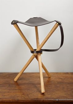 The perfect perch for watching the parade: here are nine collapsible options, ranging from high to low. Above: Vintage Camp Stool with Pendleton Cover; $78