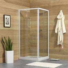 Tempered Duschkabinen angebot provex arco duschkabine eckig mit schiebetüren 90x90 cm