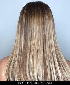 Dimensional blonde by Shawne Scott at Modern Salon & Spa in Charlotte, NC.