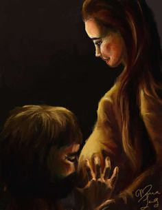 Anticipating Their Savior by Maria Lang BUY PRINTS ON ETSY!