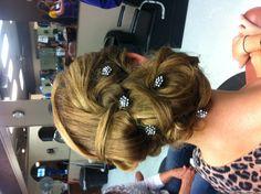 #Homecoming #Hair Bobby Pins! #terrycosta