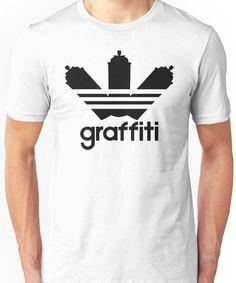 Graffiti Unisex T-Shirt Graffiti Designs, Indie Art, Tee Design, Tshirt Colors, Classic T Shirts, Shirt Designs, Unisex, Mens Tops, Cotton