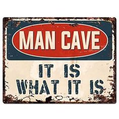 FUNNY METAL SIGN HOME DECOR:MANCAVE:OFFICE GREAT  GIFT BEWARE OF THE CHILDREN