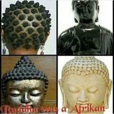 I was fascinated to learn that Asian culture has African roots. There are tribes in southern countries within Africa (I forget which specific ones, but I have books at home with this info) with people with brown skin and Asian features. Black Buddha, Brown Skin, History Facts, Culture, Statue, Inspiration, Image, Countries, Roots