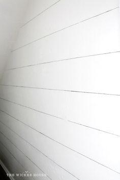 Create Realistic Shiplap Walls Using Annie Sloan Chalk Paint R In