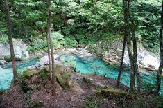 阿寺渓谷 Japanese Hot Springs, Holiday Places, Amazing Destinations, Beautiful Places, Beautiful Scenery, Places To Travel, The Good Place, Waterfall, Adventure