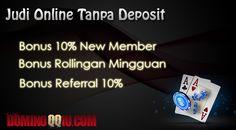 Situs Judi Online Tanpa Deposit