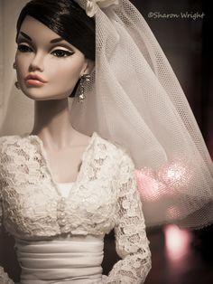 Bride Barbie Wedding Dress, Wedding Doll, Barbie Gowns, Barbie Dress, Bridal Dresses, Beautiful Bride, Beautiful Dolls, Always A Bridesmaid, Glam Doll