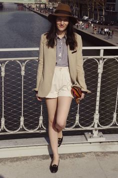 Vintage inspired tomboy style