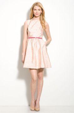 Jessica Simpson Jacquard Sleeveless Dress via Nordstrom. Another backup plan.