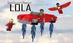 LEGO Ideas - Lola - Agent Coulson's hovercar from Marvel's Agents of S.H.I.E.L.D.
