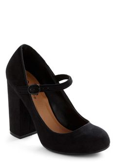 In Haute Pursuit of Style Heel in Black {be still my heart. NEED}