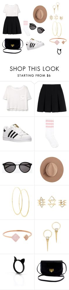 """take my hair up"" by timmology on Polyvore featuring MANGO, Alexander Wang, adidas, Yves Saint Laurent, Satya Twena, Lana, Charlotte Russe, Michael Kors and Alexis Bittar"