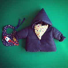 @latestatralenuvole winter collection ❄️ #babycoat #babycouture #babydowncoat #babyduvetjacket #newborn #nursery #babybib #dummy