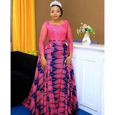afrikanische hochzeiten 2019 Unique and trendy aso ebi dresses : Top & classy aso ebi collections for beautiful and gorgeous African Ladies African Fashion Ankara, Latest African Fashion Dresses, African Print Dresses, African Print Fashion, African Wedding Attire, African Attire, African Outfits, Ankara Long Gown Styles, Ankara Styles