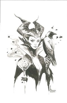 Maleficent by Kenneth Rocafort