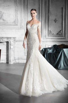 9ab36f35159 9 Best Demetrios images in 2018   Wedding dress styles, Bridal ...