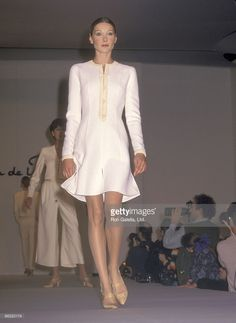 Model Carla Bruni attends the 7th on Sixth Spring 1994 Fashion Week:... News Photo | Getty Images