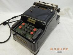 REMINGTON RAND ADDING MACHINE! MOVIE OR STAGE PROP! ELECTRIC! USED! AS IS! #REMINGTONRAND