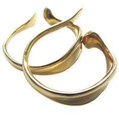// ELSA PERETTI for TIFFANY & CO. A Pair Of Gold Ear Cuffs