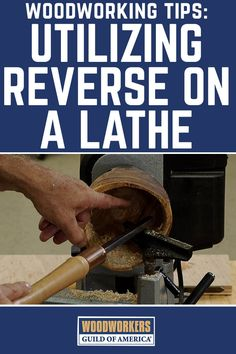 A reverse switch on a lathe allows for easier bowl work and better sanding on both bowls and spindles. This video makes it easy to understand just how beneficial it is to be able to reverse the spindle on a lathe.