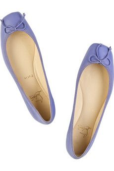 Christian Louboutin flats i want these in black and a nude