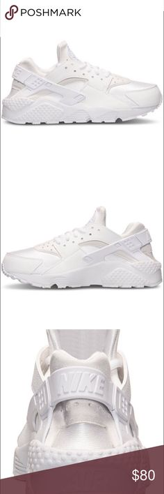 Woman's white huaraches Woman's white huaraches size 8! Only worn once. These are like new! Comes with original box! Nike Shoes Athletic Shoes
