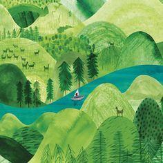 Hills and valleys - Marc Martinillo