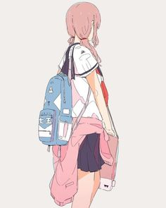 Find images and videos about anime, colors and pastel on We Heart It - the app to get lost in what you love. Art Anime Fille, Anime Art Girl, Manga Girl, Anime Girls, Character Inspiration, Character Art, Character Design, Amazing Drawings, Cute Drawings