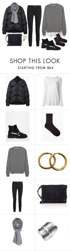 """""""Untitled #1844"""" by mmooa ❤ liked on Polyvore featuring Maison Margiela, T By Alexander Wang, ASOS, The Elder Statesman, Chanel, Acne Studios, Jérôme Dreyfuss and Care By Me"""