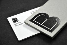 La nouvelle identité de l'École Boule par l'Atelier Mueslï: tradition et modernité