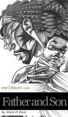 Detail of Father and Son by ~braeonArt on deviantART http://waynekelly.deviantart.com/art/Detail-of-Father-and-Son-110445451