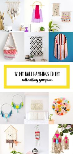 12 beautiful DIY Wal