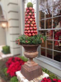 McDugald-Steele, Houston, TX Christmas 2013 Apple Cone