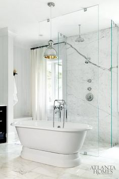 Like tub in front of shower.  Would I have enough room to do this?