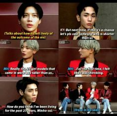 Jonghyun say it all