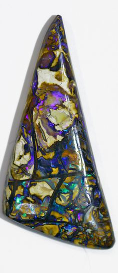 Boulder opal (Yowah) from Bill Kasso.