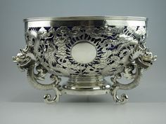 Chinese Export Silver Bowl : c.1890