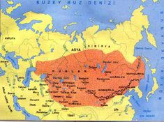 (Xiongnu) Attila the Hun map. Vlachs & the Huns. Attila The Hun, Golden Horde, Asia Map, Indian Language, Map Globe, Sumerian, Asian History, My Roots, Prehistory