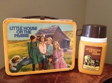 Vintage Little House On The Prarie Lunchbox And Thermos